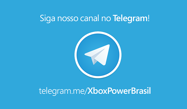 Canal do Xbox Power no Telegram