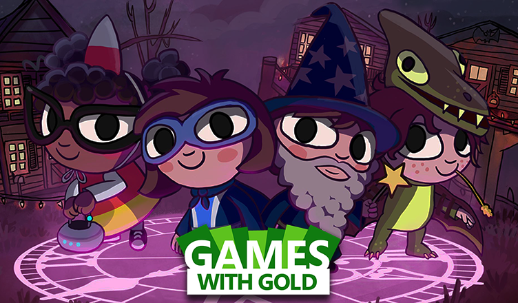 Costume Quest 2 e Peggle disponíveis no Games with Gold