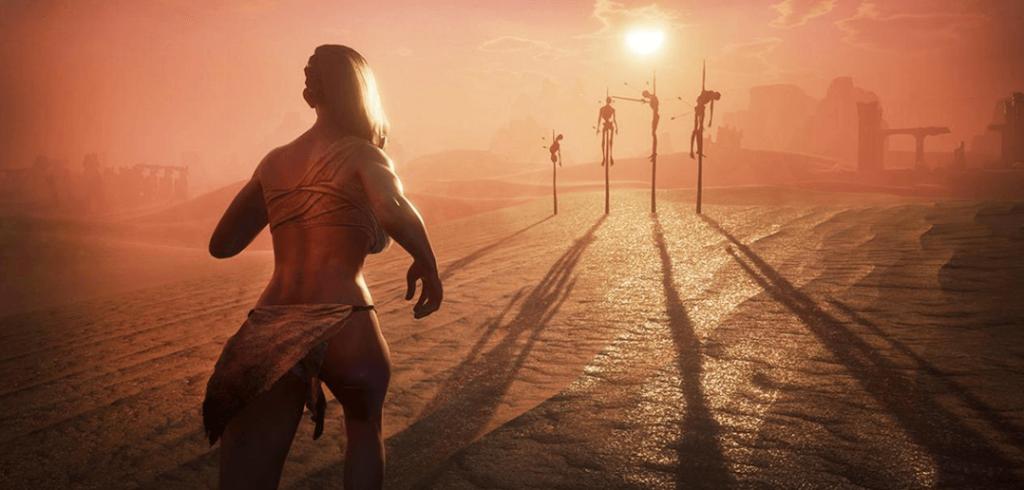 Xbox One não terá polêmica nudez do game Conan Exilies