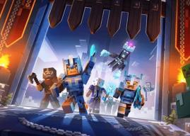 Minecraft Dungeons recebe DLC Creeping Winter em setembro