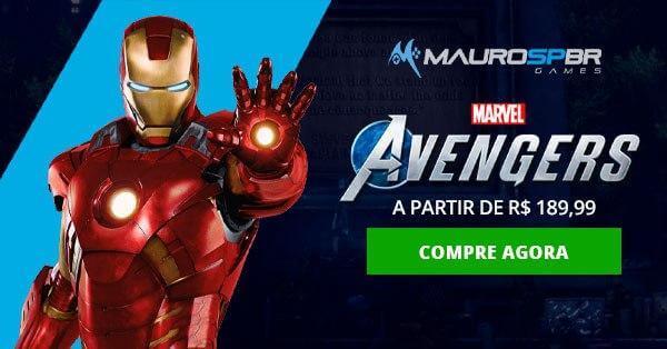 Mauro SPBR Games - Marvel's Avengers - Mídia Física