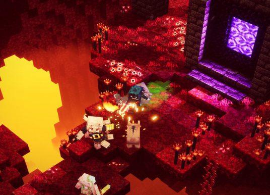 Minecraft Dungeons agora é um título otimizado para Xbox Series X|S