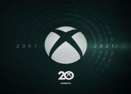 Xbox anuncia grande programação para comemorar seus 20 anos