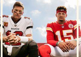Madden NFL 22 lança com Tom Brady e Patrick Mahomes